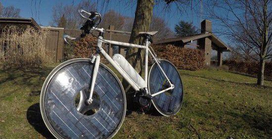 Solarbike太阳能电自行车问世