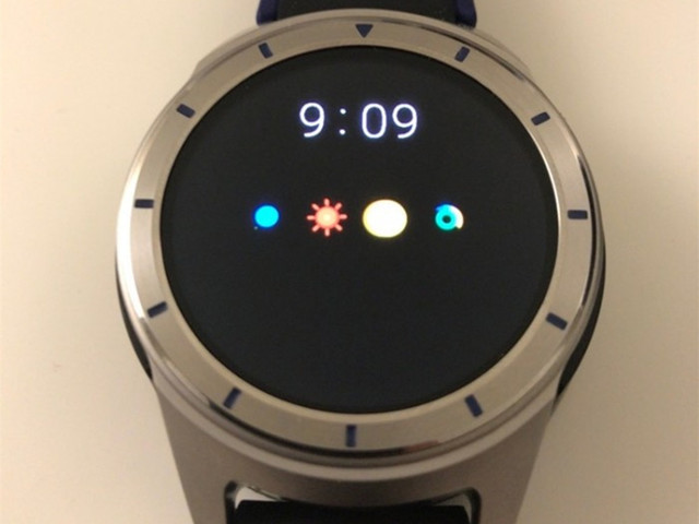 中兴智能手表曝光:支持Android Wear2.0